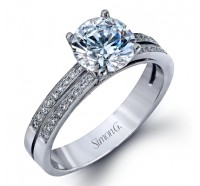 Simon G  DR139 Engagement Ring