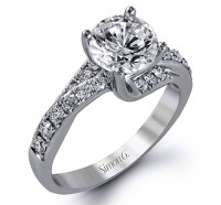Simon G  DR237 Engagement Ring