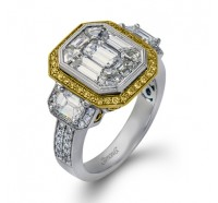 Simon G  LP2061 Wedding Ring