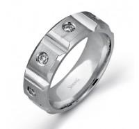Simon G  LP2177 Men's Wedding Ring