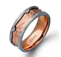 Simon G  LP2182 Men's Wedding Ring