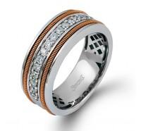 Simon G  MR2055 Men's Wedding Ring