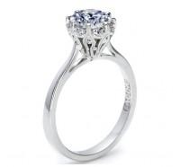 Tacori Simply Tacori 2504RD Engagement Ring