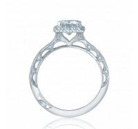 Tacori Reverse Crescent 2618EC Engagement Ring