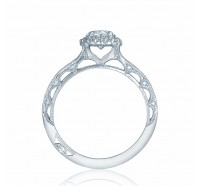 Tacori Reverse Crescent 2618OV Engagement Ring