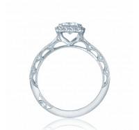 Tacori Reverse Crescent 2618PR Engagement Ring