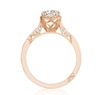 Tacori Pretty In Pink 2620RDSMPPK Engagement Ring