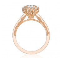 Tacori Pretty In Pink 552CUPK Engagement Ring