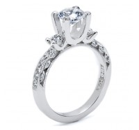 Tacori Classic Crescent HT2259RD Engagement Ring