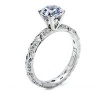 Tacori Classic Crescent HT2378RD Engagement Ring
