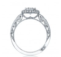 Tacori Blooming Beauties HT2521OV Engagement Ring