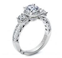 Tacori Classic Crescent HT2532RD Engagement Ring