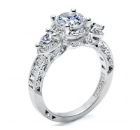 Tacori Classic Crescent HT2533RD Engagement Ring