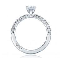 Tacori Petite Crescent HT254515EC Engagement Ring