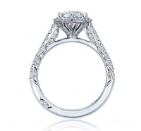 Tacori Petite Crescent HT2555RD65 Engagement Ring
