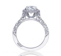 Tacori Petite Crescent HT2560OV Engagement Ring