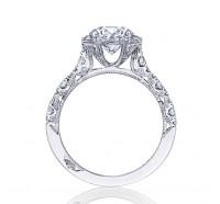 Tacori Petite Crescent HT2560RD Engagement Ring