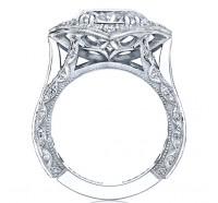Tacori RoyalT HT2611OV Engagement Ring