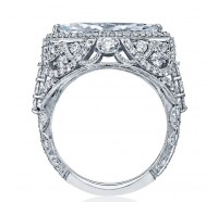 Tacori RoyalT HT2612MQ Engagement Ring