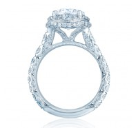 Tacori RoyalT HT2624OV Engagement Ring