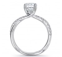 Uneek Infinity Infinity-SM817SB Engagement Ring