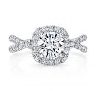Uneek Infinity Infinity-SM818CU Engagement Ring