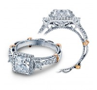 Verragio Parisian D-122P Engagement Ring