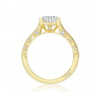 Tacori Classic Crescent HT2513RDY Engagement Ring