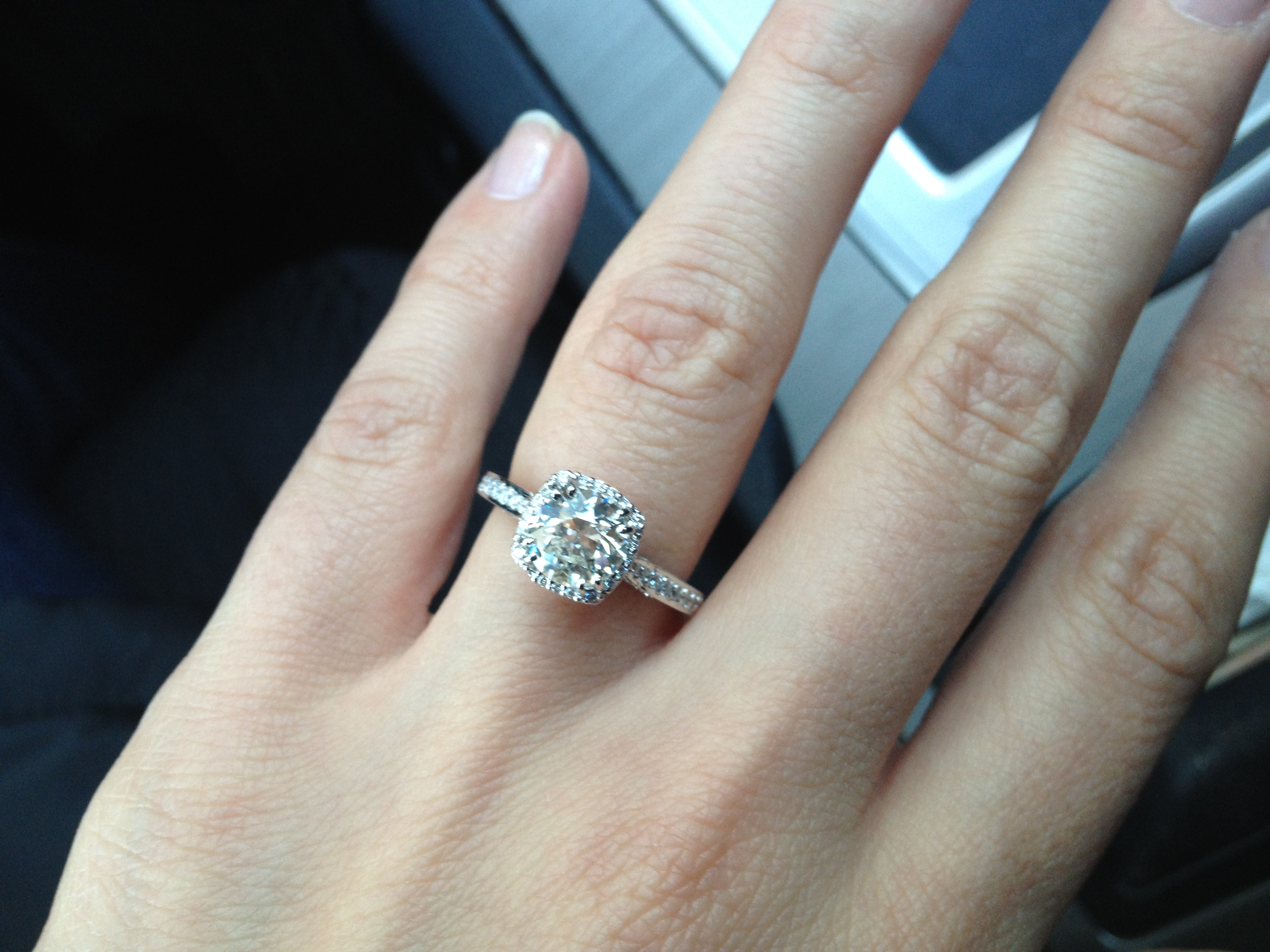 ring finger rings your reasons middle wear to diamond why you the should engagement on