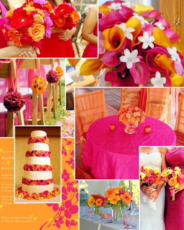 choosing a wedding color scheme