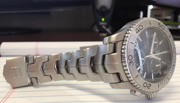Tag Heuer Link Bracelet Adjustment
