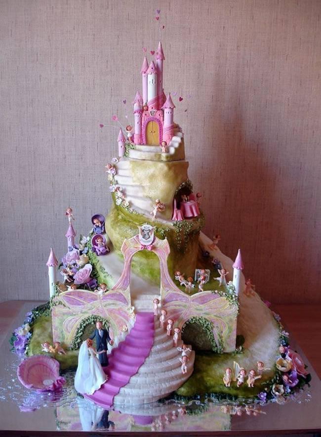 Wedding cakes unique 45 Of