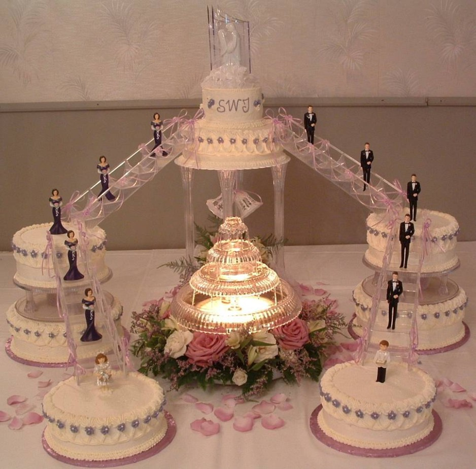Unique Wedding Cake Designs