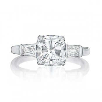 Henri Daussi Awt Engagement Ring