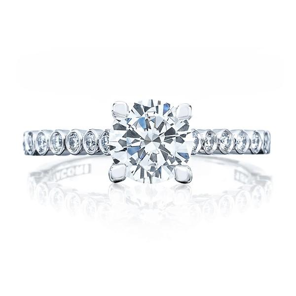 185096f36d90e Tacori Simply Tacori 200-2RD Pave Engagement Ring