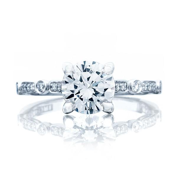 dc1e6e29d7802 Tacori Simply Tacori 202-2RD Pave Engagement Ring