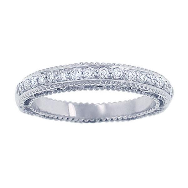 Verragio Wedding Bands.Verragio Afn 5007w Wedding Ring