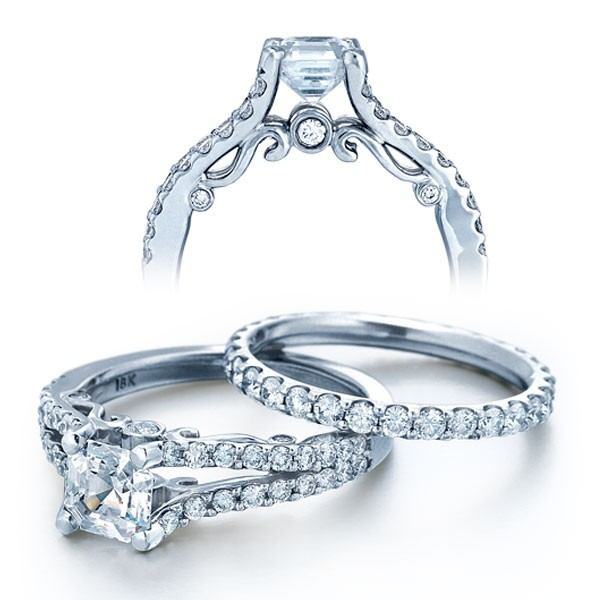 8851f7be58d Verragio INS-7008W diamond wedding ring. Matching engagement ring sold  separately.