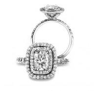 Bez Ambar  1RAR97WD Engagement Ring