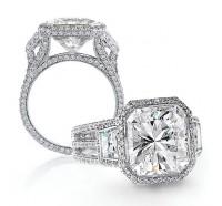 Bez Ambar  OC2P3SA Engagement Ring