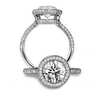 Bez Ambar  WIREOV Engagement Ring