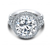 Christopher Designs  60R-RD Engagement Ring