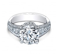Christopher Designs  62R-RD Engagement Ring