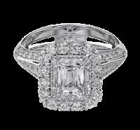 Christopher Designs  69RR-EC Engagement Ring