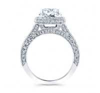 Christopher Designs  70RF-CURD Engagement Ring