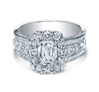 Christopher Designs  76R-EC Engagement Ring