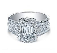 Christopher Designs  76R-EC Engagement Ring