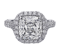 Christopher Designs  D100-CU Engagement Ring