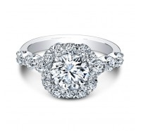Christopher Designs  G52-CURD Engagement Ring