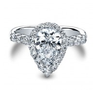 Christopher Designs  G52-PER Engagement Ring